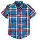Ralph Lauren Boys 2-7 Madras Plaid Shirt