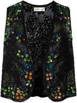 Faith Connexion embellished waistcoat - men - Viscose/PVC/glass - One Size