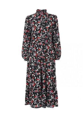 Kitri Natalia Vintage Floral Print Maxi Dress