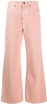 SLVRLAKE Grace high-waisted wide-leg jeans