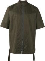 Helmut Lang zipped shirt - men - Cotton - M