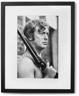 Sonic Editions Framed Michael Caine Get Carter Print, 17 X 21 - Black