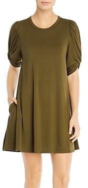 Elan International Puff-Sleeve Dress