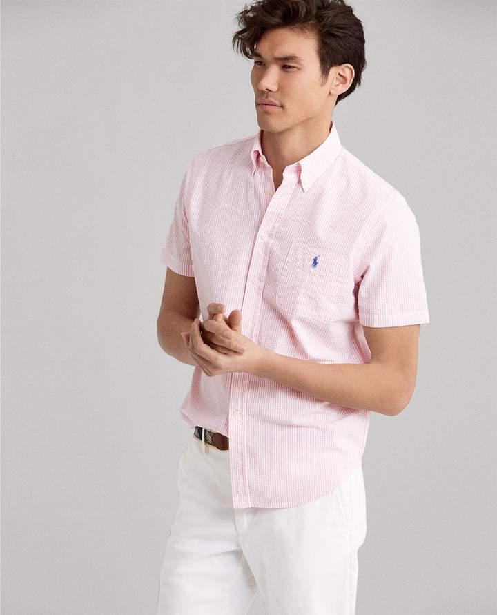 Ralph Lauren Classic Fit Seersucker Shirt