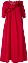 Sueundercover ruffle shift dress