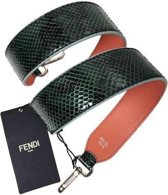 Fendi Green Python Purses, wallets & cases