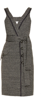 Proenza Schouler Bi-colour tweed dress