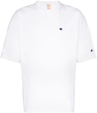 Champion crew neck logo T-shirt