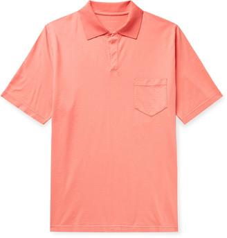 Sease Stretch-Cotton Jersey Polo Shirt