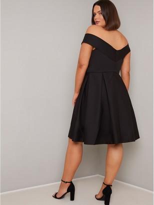 Chi Chi London Curve Sevda Dress - Black