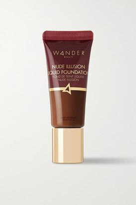 Wander Beauty Nude Illusion Liquid Foundation - Deep