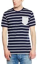 Cross Men's Short Sleeve T-Shirt - Blue