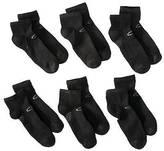 Champion C9 ; C9 by ; Men's 6Pk Ankle Socks - Black