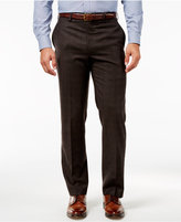 Lauren Ralph Lauren Windowpane Flannel Classic-Fit Dress Pants