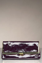 Emerson Patent Foldover Clutch in Amethyst