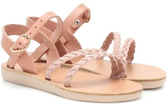 Ancient Greek Sandals Kids Little Afrodite leather sandals