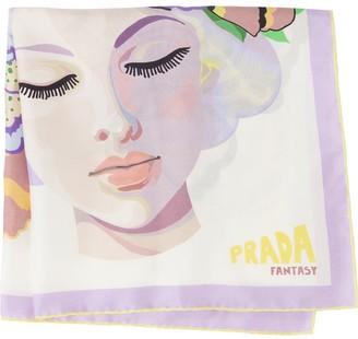 Prada Fantasy floral-print scarf