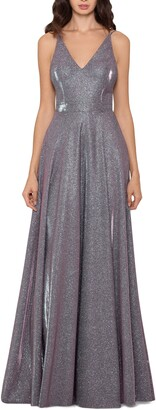 Xscape Evenings Glitter A-Line Gown