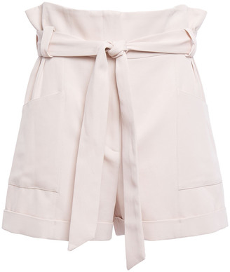 IRO Piralin Belted Cady Shorts
