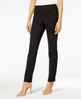 Style&Co. Style & Co Style & Co Petite Pull-On Seamed Skinny Pants, Created for Macy's