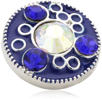 Pasionista Unisex Charm Silver-Plated Brass/Enamel 629940 Chunks