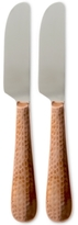 Thirstystone Stainless Steel Hammered Copper 2 Piece Spreaders Set