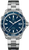 Tag Heuer Men's Aquaracer WAK2111.BA0830 Stainless-Steel Swiss Quartz Watch