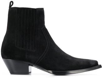 Saint Laurent Lukas ankle boots