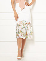 New York & Co. Eva Mendes Collection - Hera Pleated Midi Skirt