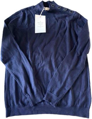 Sã©Zane SAzane Blue Cashmere Knitwear