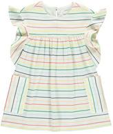 Chloé Sale - Striped Ruffle Dress