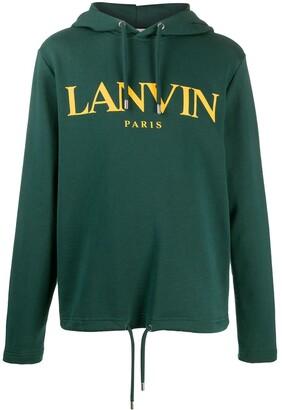 Lanvin Logo Cotton Hoodie