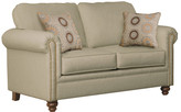 Three Posts Caroll Loveseat by Serta Upholstery