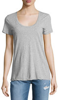 AG Adriano Goldschmied The Killian Jersey Tee, Heather Gray