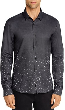 HUGO BOSS Ero Ombre Stardust Extra Slim Fit Shirt