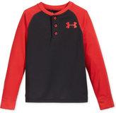 Under Armour Boys' Waffle Henley Shirt