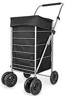 Fashion World 6 Wheel deluxe Shopping Trolley.