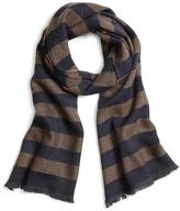 Brooks Brothers Herringbone Stripe Scarf