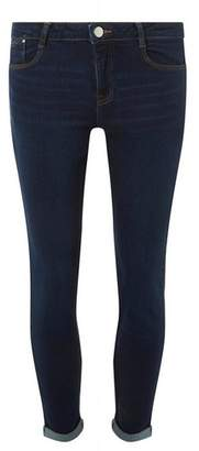 Dorothy Perkins Womens Indigo 'Harper' Skinny Jeans