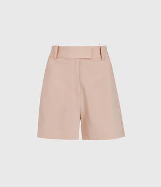 AllSaints Dani High-Rise Shorts