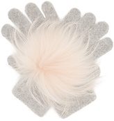 Yves Salomon Fur-trimmed gloves