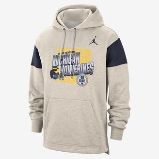 Nike Men's Pullover Hoodie Jordan College (Michigan)
