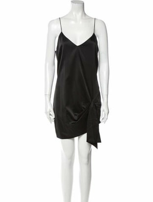 Caroline Constas 2019 Mini Dress Black