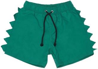 Yporqué Crocodile Spines Swim Shorts