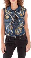 UNIONBAY Swirly Denim Vest | One-of-A-Kind