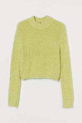 H&M Boucle jumper
