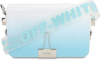 Off-White Off White MINI DEGRADE LEATHER SHOULDER BAG