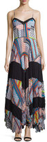 Parker Skye Sleeveless Combo Maxi Dress