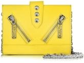 Kenzo Kalifornia Gommato Leather Wallet w/Chain Strap