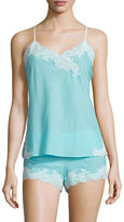 Natori Paradise Solid Nightie and Shorts Set